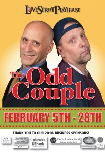 The Odd Couple by Neil Simon - Love St. Playhouse